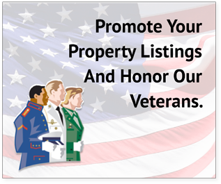Promote Your Property Listings And Honor Our Veterans